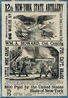 12th New-York State Artillery ... Wm. A. Howard Col. Com'dg. ... This regiment now being organized under the command of a United States officer of tried experience, offers superior inducements to recruits, as it is a favorite branch of the service. …