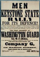Men of the Keystone State Rally for its defence!