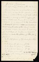William Oland Bourne left-handed penmanship papers, 1862-1868 (bulk 1865-1868)