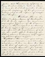 Preamble and Resolution commending Bourne for his work, written from Washington D. C., dated May 21, 1866, p. 2.