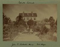 John E. Seabrook's House. Post Hdqrs. [Image]