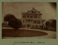 John E. Seabrook's House. Side View [Image]