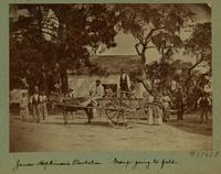 James Hopkinson's Plantation. Group going to field. [Image]