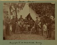 Group of Co. 'G,' 1st Massachusetts Cavalry [Image]