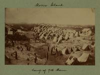 Camp of 9th Maine. [Image]