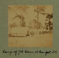 Camp of 7th Conn. at Beaufort, S.C. [Image]