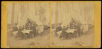 A Breakfast party at headquarters, Army Potomac, April, 1864