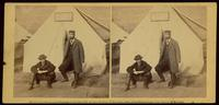 Group at transportation office, Aquia Creek, February, 1863