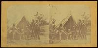 7th Regiment (N.G.) N.Y.S.T., Camp Cameron, Washington City, Tent No. 20, Co. 2, May 1861