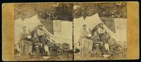 Camp life, Army of the Potomac. News from home. [Stereograph]