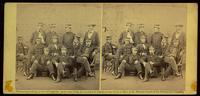 Group, officers on board the Monitor, July 9, 1862