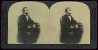 A rare old third dimension portrait of Abraham Lincoln, made in the days of the Civil War