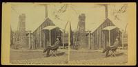 Capt. Bates' quarters, headquarters 3d Army Corps, Army Potomac, April, 1864