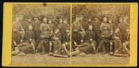 Group, Gen. Marcy and friends, at Camp Winfield Scott, near Yorktown, May 2, 1862