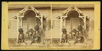 General Patrick (Provost Marshal General Army Potomac) and staff, Culpepper [sic], November, 1863