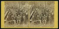 Group, Gen'l Caldwell and staff on battle field of Antietam, 21st September, 1862