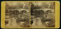Burnside bridge, Antietam, looking up stream