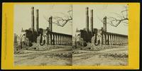 Ruins of North Eastern Depot, blown up during the evacuation of Charleston (about 300 lives lost.)