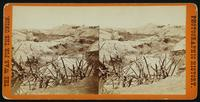 Ditch and 'Cheavaux de Frise' in front of the Union Fort Sedgwick, called by the Rebel soldiers 'Fort Hell.'  This view was taken the morning after the storming of Petersburgh, Va., April 2d, 1865. [Stereograph]