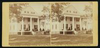 Residence John Minor Botts, Va., southeast, September, 1863