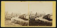 Railroad depot and yard, Culpepper [sic]