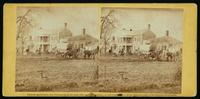 Lacy House, Falmouth, Va.  View from the south, March, 1863