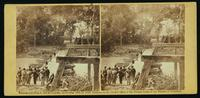 Ruins of bridge at Mrs. Nelson's crossing on the Pamunky [sic], 28th May, 1864