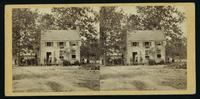 [Frame house on Fair Oaks battle field used as a hospital by Hooker's Division.]