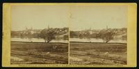 Fredericksburg from the Lacy house, March, 1863