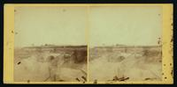 View of rebel works in front of Petersburg, captured by the 18th Corps, under Gen. Smith, 24th June, 1864. [Stereograph]