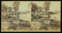 View of bombproof tents occupied by U.S. colored troops in front of Petersburg, Va., August 7, 1864