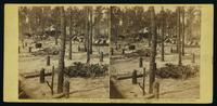 Camp of Union soldiers on the line in front of Petersburg, Va., August 10, 1864