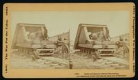 Railroad battery before Petersburg. [Stereograph]