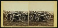 First New York Battery, 20 pound Parrot rifled guns, near Richmond, June 1862