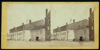 Libbey [i.e. Libby] Prison, looking west, on Water street, Richmond