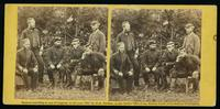 Group, English officers, Camp Winfield Scott, near Yorktown, May, 1862