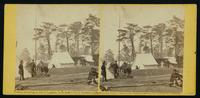 Gen'l M'Clellan's tent, Camp Winfield Scott, near Yorktown, May, 1862