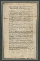 State of Connecticut, General Assembly, October 23, 1777. In the Lower House, ordered, that the articles of convention between Major General Gates, and Lieutenant-General Burgoyne, be printed and dispensed to the several towns in this state.