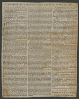 Postscript to the New-York packet, of May 14, 1778.