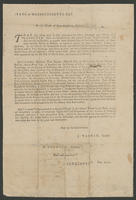 State of Massachusetts-Bay. In the House of Representatives, February 6, 1777.