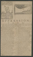 Oppression: a poem. Or, New-England's lamentation of the dreadful extortion and other sins of the times.