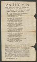 hymn to be sung by the charity scholars, on Sunday, the 12th of October, 1783, at St. George's Chapel, after the charity sermon for the benefit of the school.