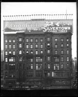 42nd Street at Fifth Avenue, New York City, 1921: Goodrich Silvertown Cord Tires.