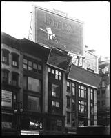 42nd Street and Sixth Avenue, New York City, 1921-1922?: Direx Film, C.C. Bohn Electric Company, Groom Detective Agency.