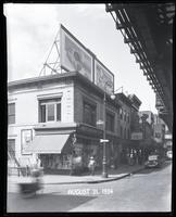 Third Avenue and East 166th Street, Bronx, New York City, August 31, 1934:  Bond Bread, Philco Car Radio, Heinz Oven-Baked Beans, Buster Brown Shoes for Girls (partial). Also storefront for Philips Department Store.