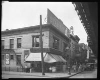 Third Avenue and East 166th Street, Bronx, New York City, February 24, 1926: Armour Star Ham, Seeley's Beverages, Hecker's Flour. Also L. Oppenheimer, grocer; M. Rubin storefront with poster for Dr. Posner's Shoes.