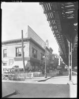 Third Avenue and East 166th Street, Bronx, New York City, August 28, 1925: Armour Star Ham, Seeley's Beverages (obscured). Also L. Oppenheimer, grocer; M. Rubin storefront with poster for Dr. Posner's Shoes.