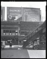 Willis Avenue near 148th Street, Bronx, New York City, October 26, 1925: Baumert Cream Cheese, Joseph M. Klein (clothing store).