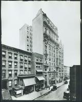 123 - 143 W. 47th Street, showing Hotel Flanders at no. 133, New York City, undated.  (Roege 9440)