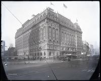 The Astor Hotel, Broadway at 45th Street, New York City, circa 1925.